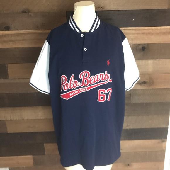 Lauren Jersey Men's Baseball Lg Polo Bears Ralph 4ASc3RjL5q